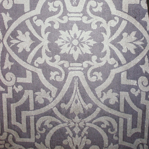 2 x 4 Westwood Gray & White Rug