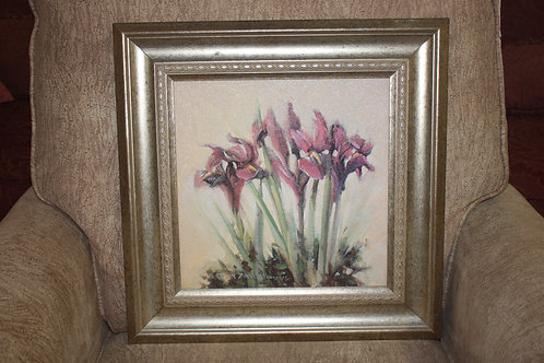 Framed Flower Picture