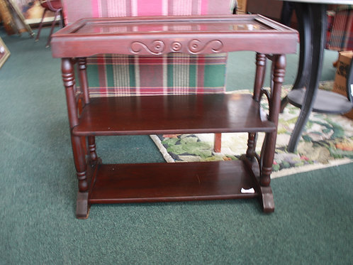 Antique Table with Three Shelves