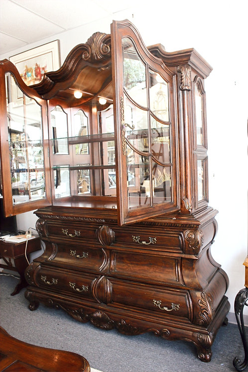 Large Glass China Cabinet