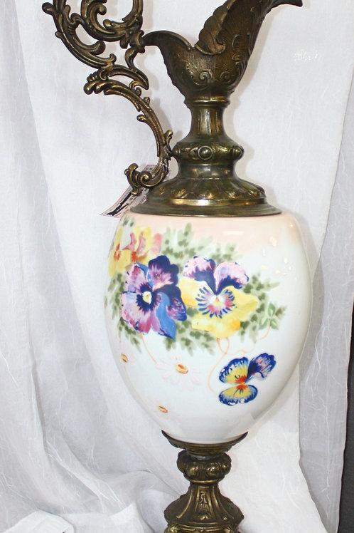 Pair of Panisse Urn Lamps Antique