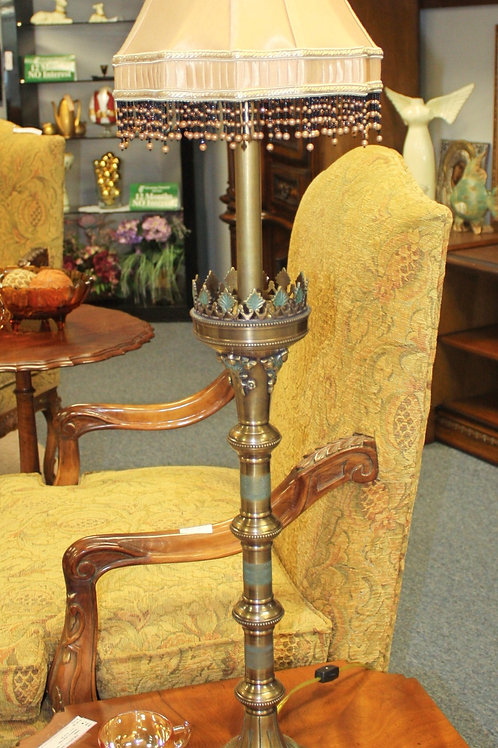 Tall Gold Lamps - Set of 2