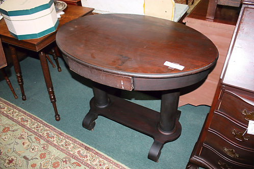 Large Antique Oval Table