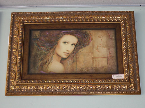 Jewel of Troy Woman Painting