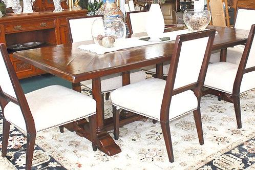 Theodore Alexander Table & 6 Vanguard Chairs