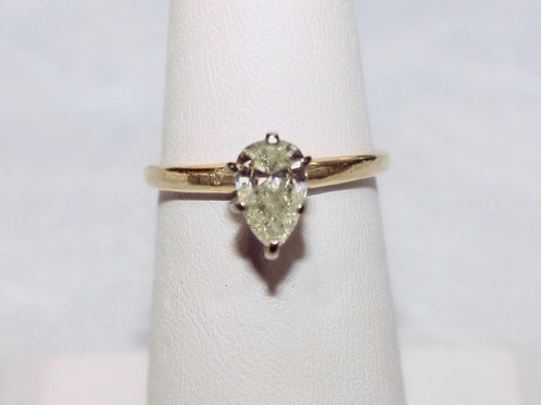 14kt Gold .90ct Diamond Ring