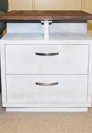 Farmhouse Solid Wood End Tables
