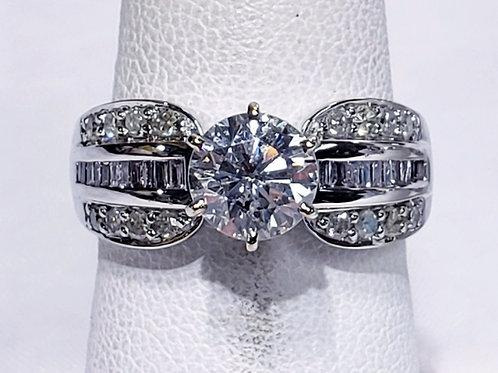 1.10ct 14K Diamond Ring
