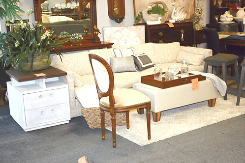 Hopsack Tan Sofa (see description)