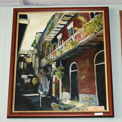 Sylvia Gomet Oil Painting