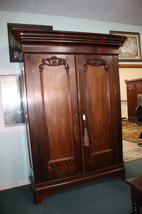 Antique Rosewood Armoire