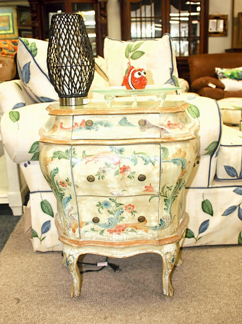 Commode End Table