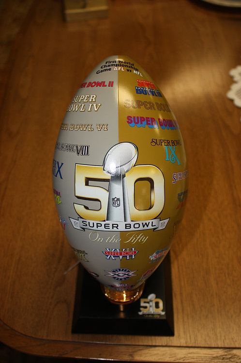 50th Superbowl Football AFLvs NFL