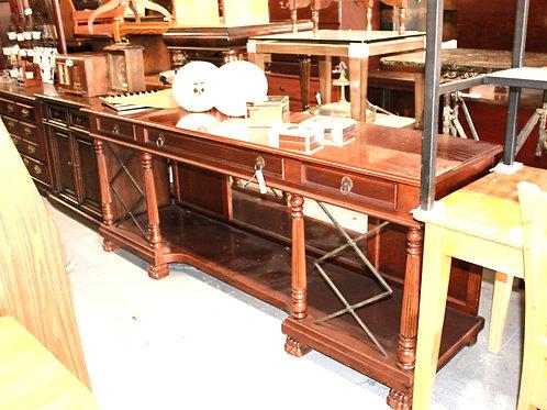 Wood Credenza Desk