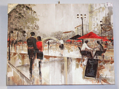River Walk Painting
