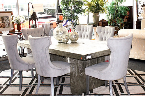 Z Gallorie Metal Table (chairs sold separate)