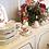 Thumbnail: 8pc Mikasa Silk Flower Table Setting