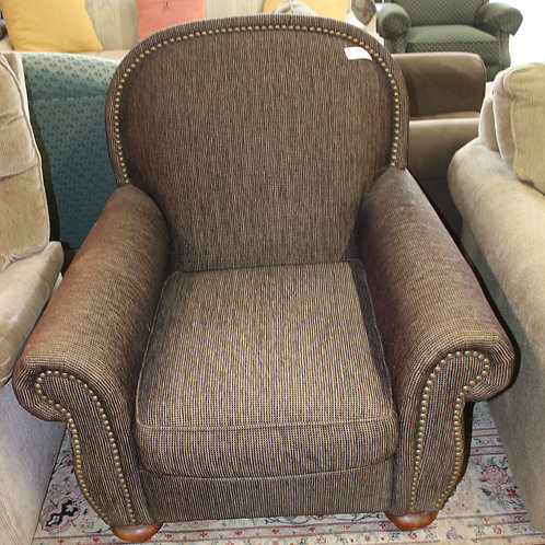 Gray Oversized Chair