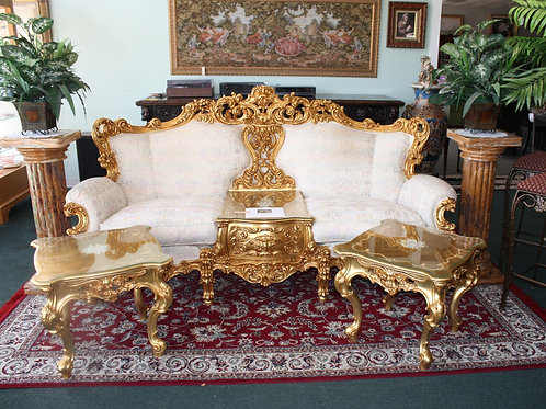 Baroque Rococo Sofa Set