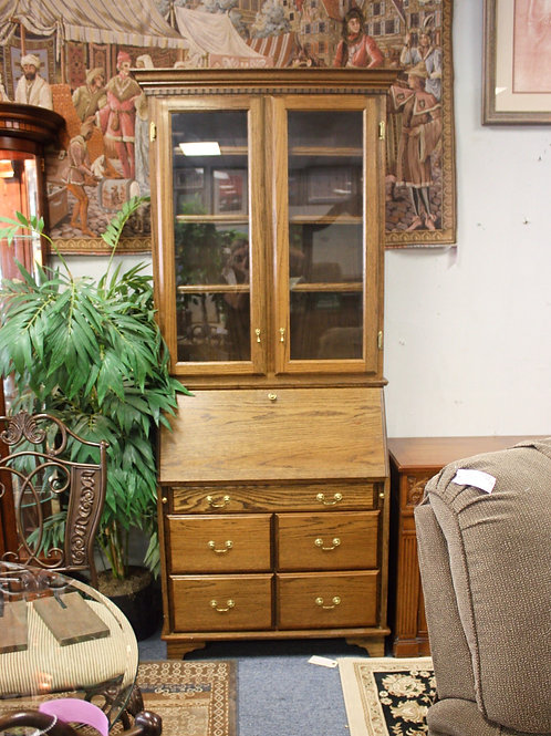 Oak Secretary Desk