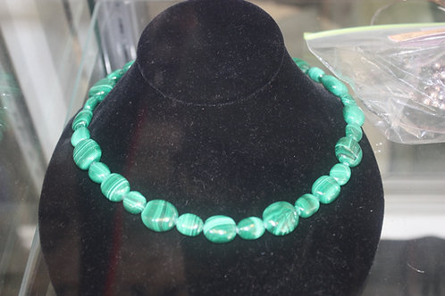 925 Malachite Necklace