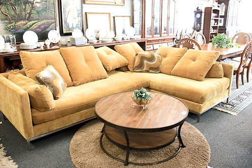 Mid-Century Gold Sectional