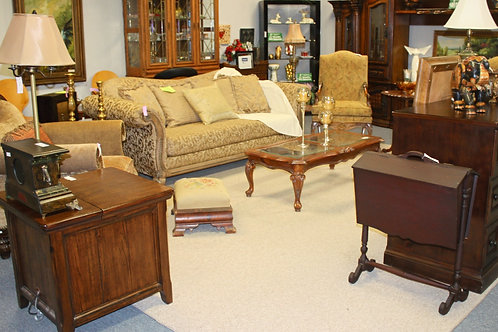 Gold Traditional Living Room Collection (individually priced)