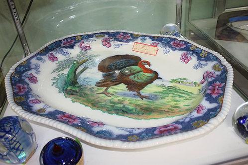 """24"""" Antique Turkey Platter"""