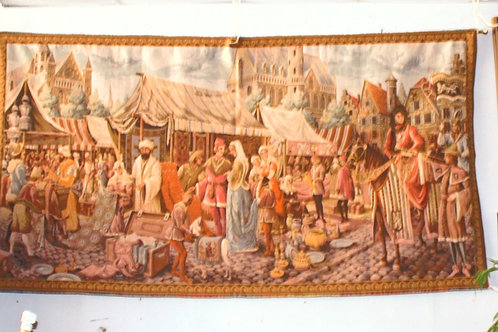 "52"" x 79"" Ghent Tapestry"
