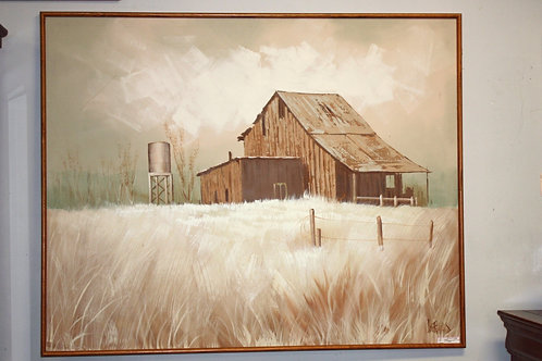 Lee Reynolds Farmhouse Painting
