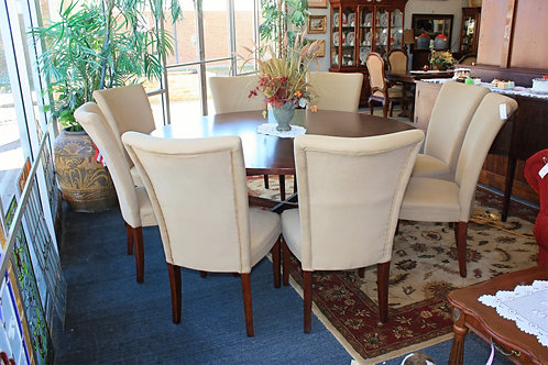 Round Table & 8 Chairs