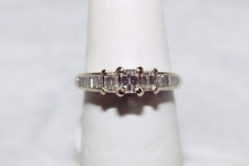 14kt White Gold 1cttw Diamond