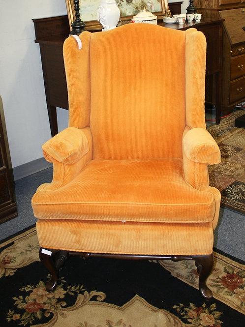 Orange Arm Chair