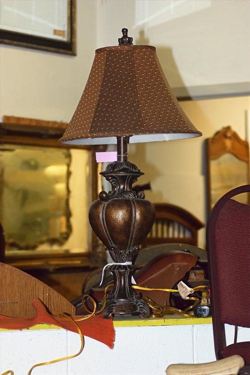 Bronze Polka Dot Lamp
