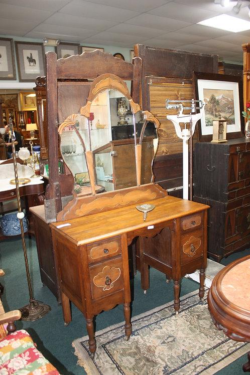 Antique Vanity w/Mirror