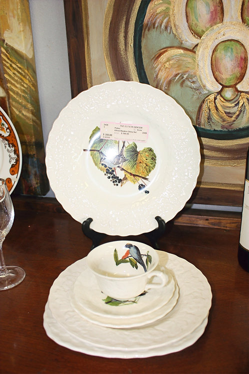Alfred Meakin England Birds of America China Set