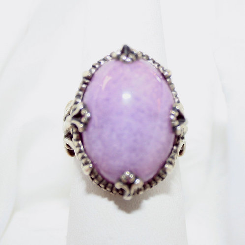 Purple Moon Ring
