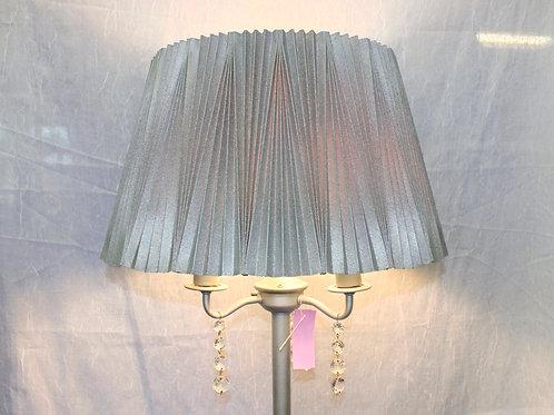 Silver & Crystal Floor Lamp