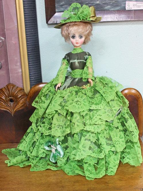 Vintage Doll Green