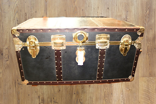 Black Storage Trunk