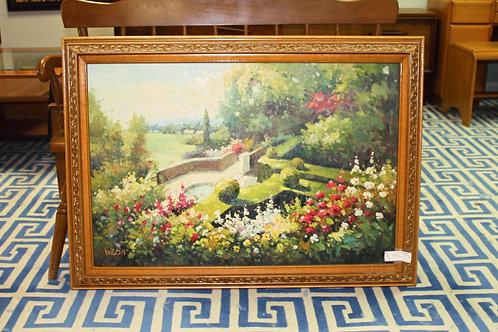 Weller Garden Painting