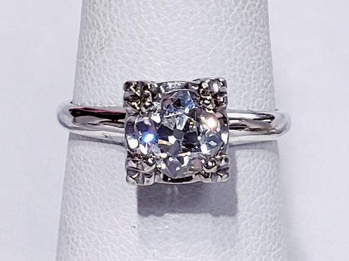 1ct 14K Solitare Diamond Ring