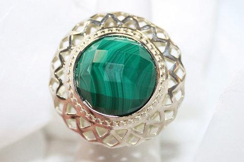 Carolyn Pollack Malachite Ring