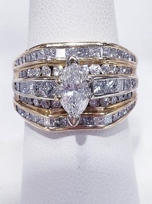 1.5ct 14K Diamond Ring