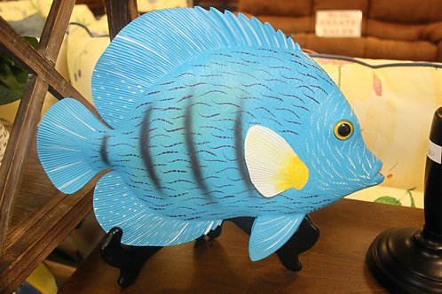 Blue Ceramic Fish