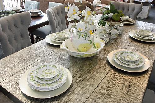 Vintage Petite Flower Stoneware