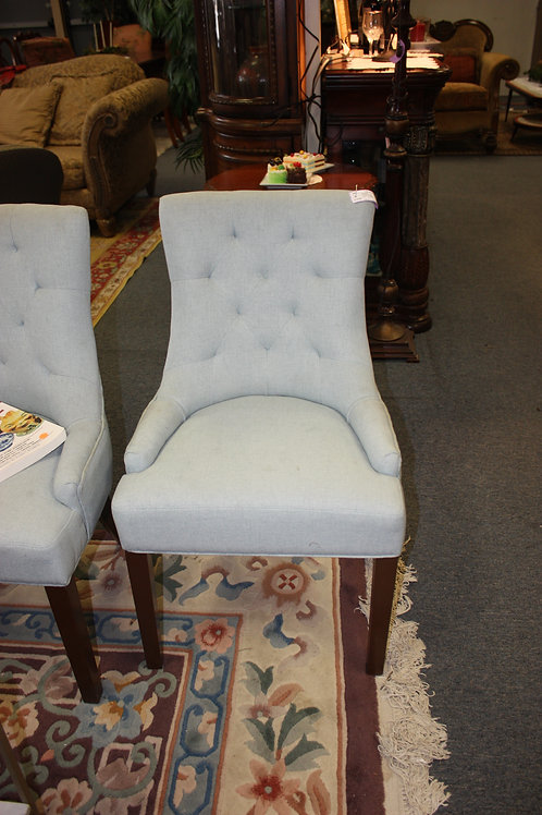 Blue Dining Chairs - Set of 6
