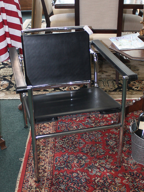 Mid-Century Black Chair