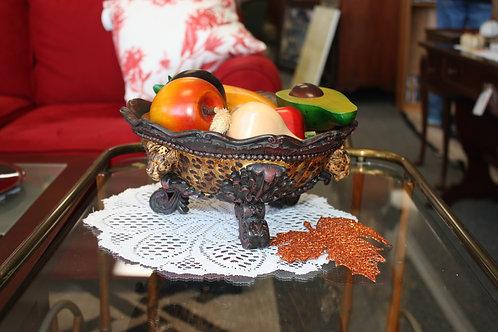 Designer Cheetah Bowl