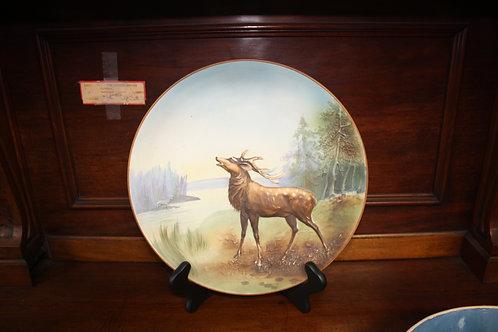 Antique Hand Painted Nippon Elk